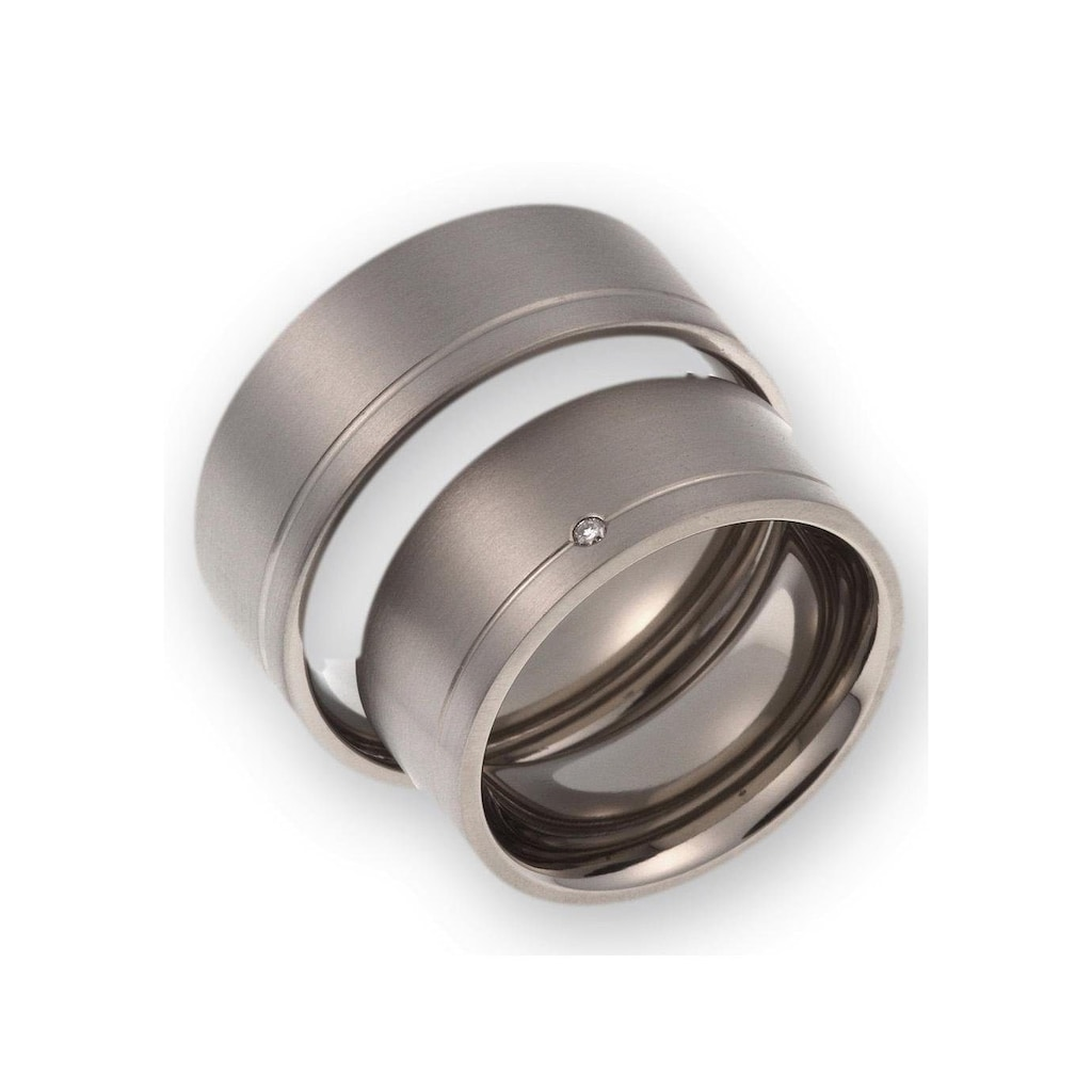 CORE by Schumann Design Trauring »20006168-DR, 20006168-HR, ST045.02«, Made in Germany - wahlweise mit oder ohne Diamant