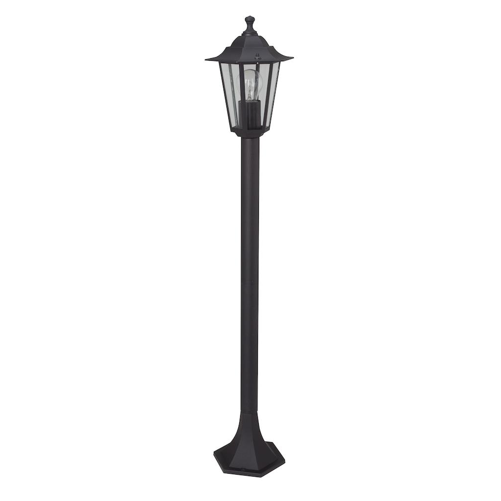 Brilliant Leuchten Außen-Stehlampe, E27, 1 St., Crown Außen schwarz