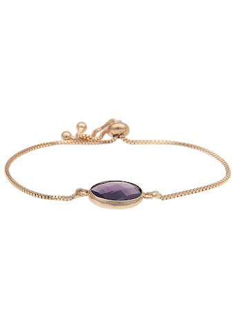 leslii Armband mit rundem Naturstein kaufen