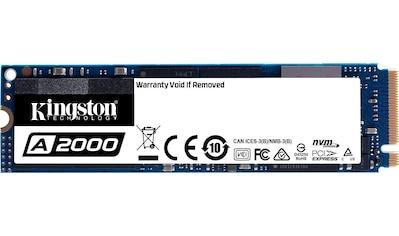 Kingston SSD »A2000 NVMe PCIe« kaufen