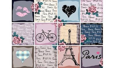 queence Fliesenaufkleber »Paris« kaufen