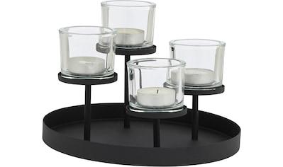 BLOMUS Teelichthalter »NERO«, 4-flammig kaufen
