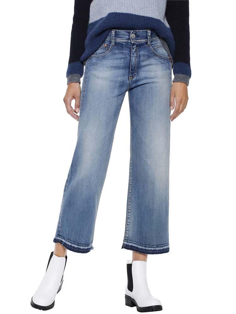 Herrlicher Jeanshose mit schöner Waschung | Bekleidung > Jeans > Weite Jeans | Blau | Herrlicher