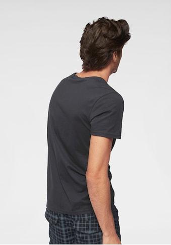 John Devin T-Shirt, mit Schriftzug-Print kaufen
