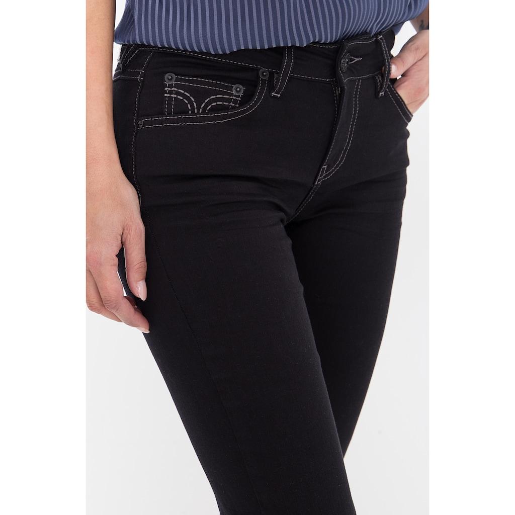 ATT Jeans 5-Pocket-Jeans »Stella«, in cleanem Look, Straight Cut