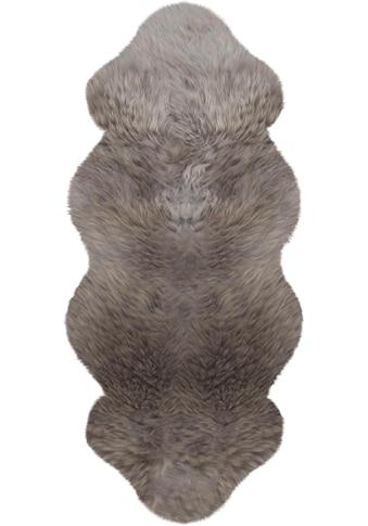 Heitmann Felle Fellteppich »Lammfell KK 1,5«, fellförmig, 70 mm Höhe, echtes Austral. Lammfell, Wohnzimmer kaufen