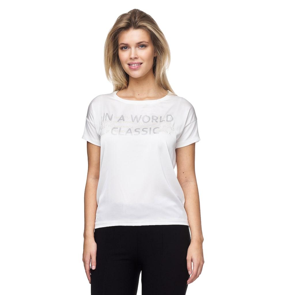 Decay T-Shirt, mit modischem Schriftzug