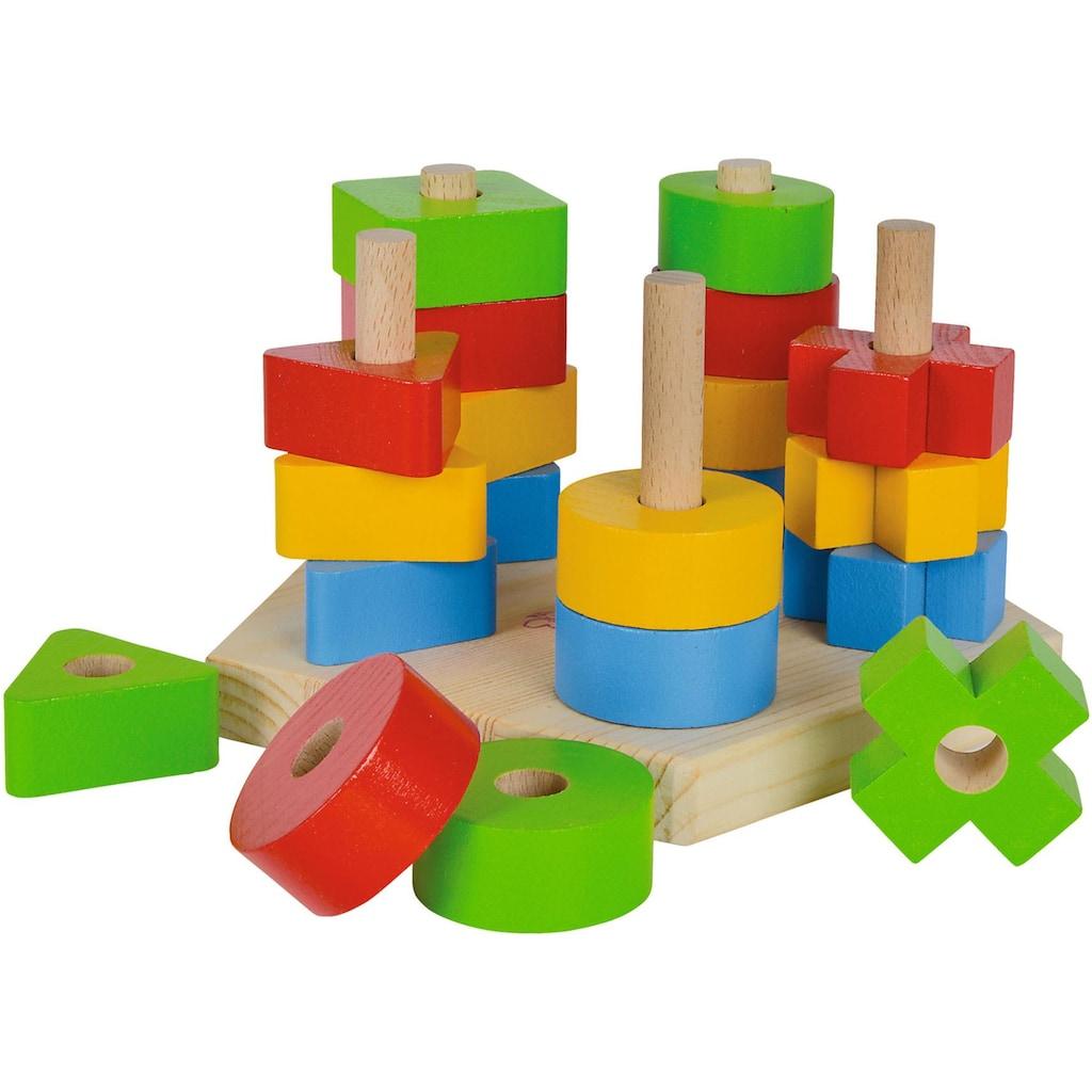 Eichhorn Steckspielzeug »Steckspiel«, aus Holz; Made in Europe