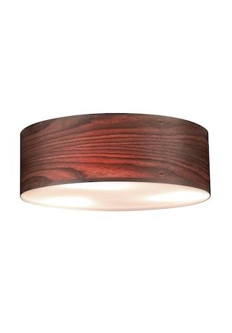 Paulmann,LED Deckenleuchte»Neordic Liska Echtholz dunkel 3 - flammig«, kaufen