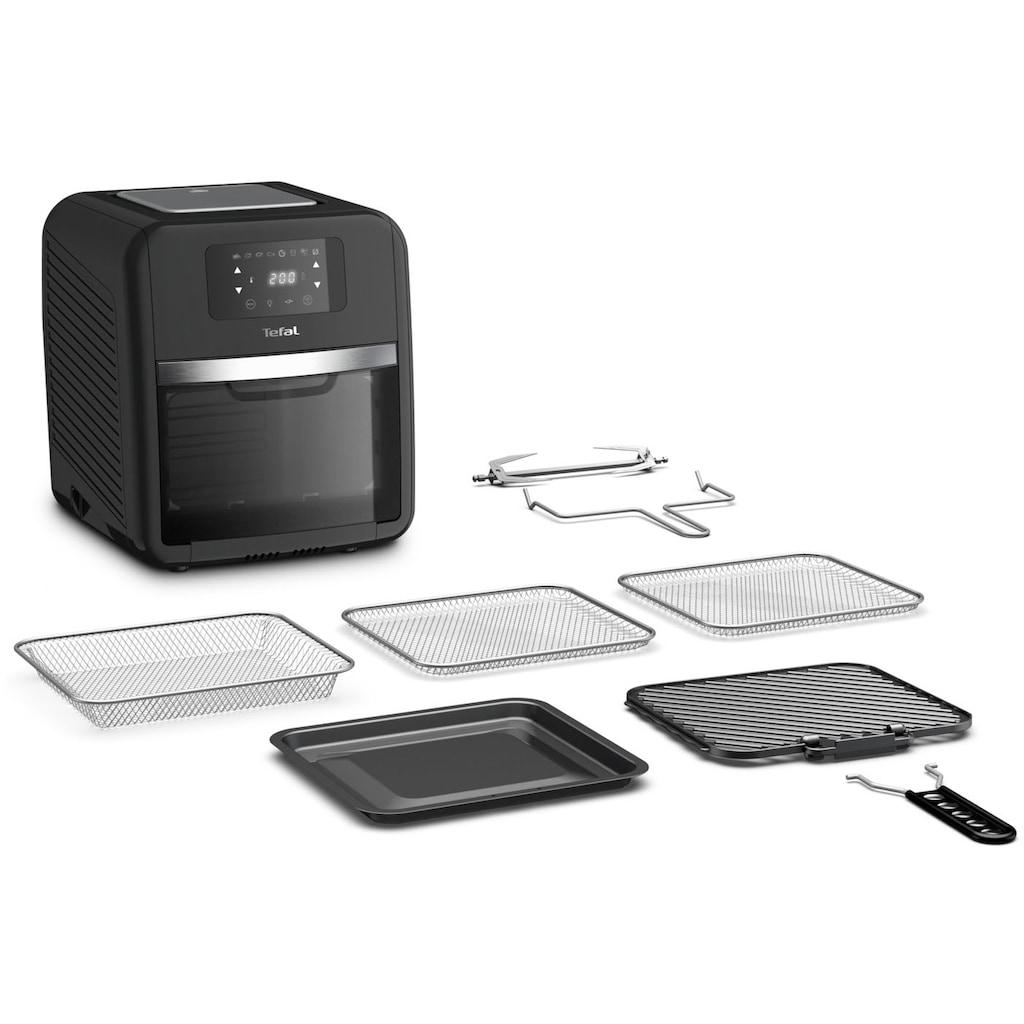 Tefal Heissluftfritteuse »FW5018 Easy Fry Oven & Grill«, 9 in 1; 7 Zubehörteile; 11 L; 6 Portionen; Temperaturkontrolle; Einfach zu Reinigen; Timer
