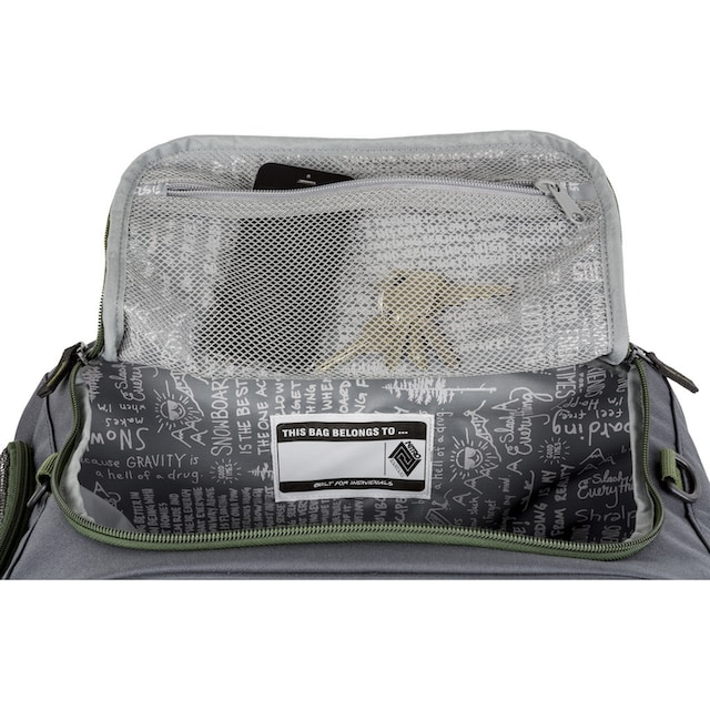 NITRO Sporttasche »Duffle Bag XS Pirate Black«