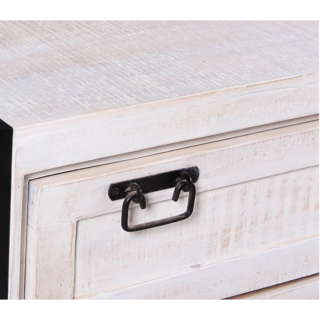 SIT Schuhschrank »White Panama«, im Vintage Look