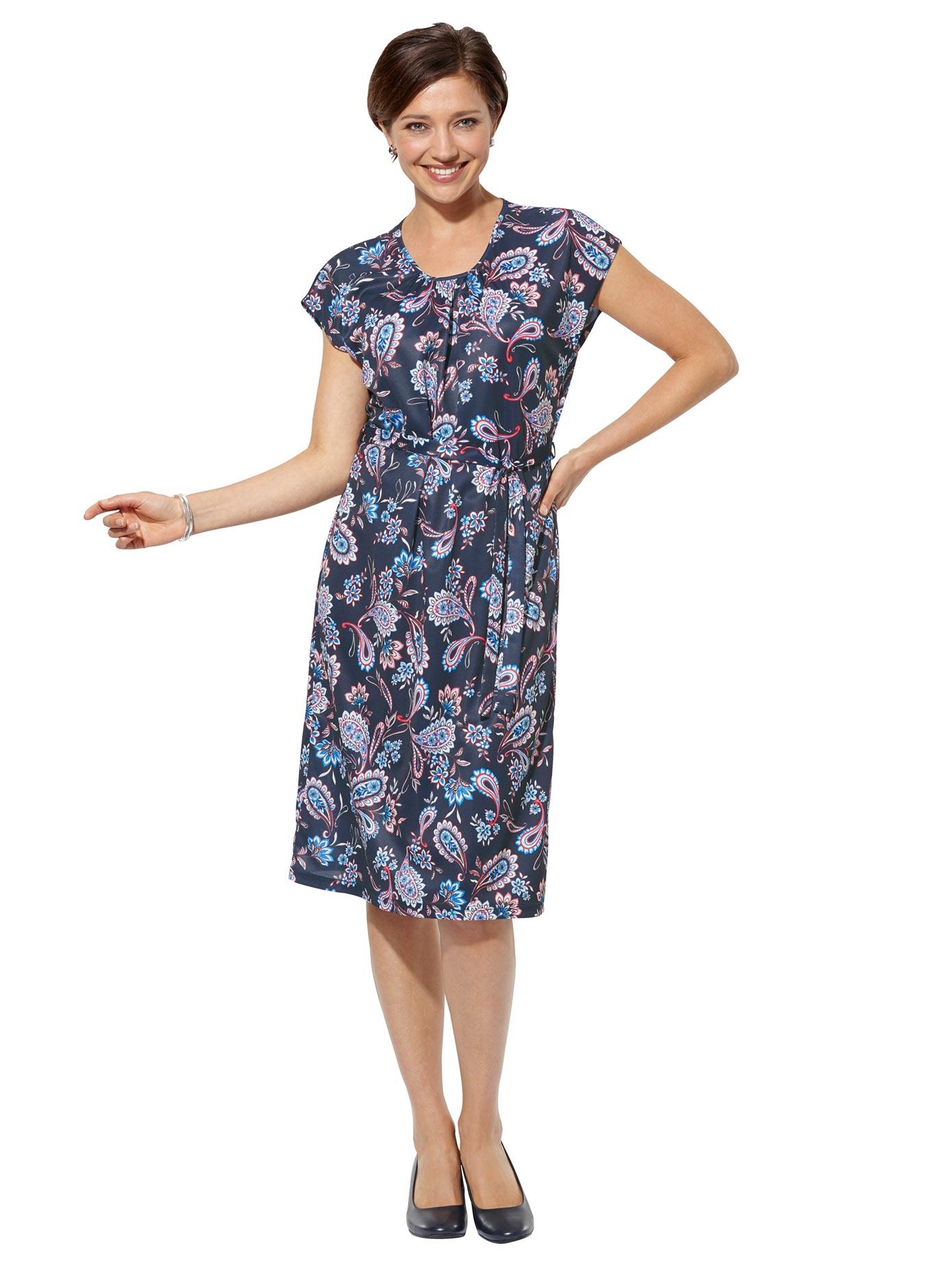 Classic Basics Jersey-Kleid in bequemer Schlupfform