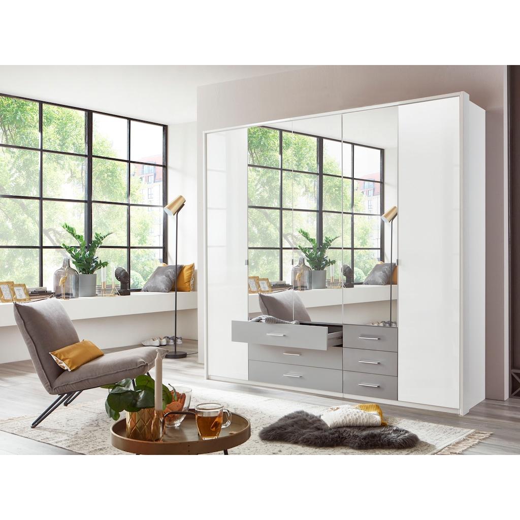 Wimex Drehtürenschrank »Sumatra«, mit Lacktüren und Spiegel