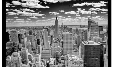 Papermoon Fototapete »Manhattan Panorama«, Vliestapete, hochwertiger Digitaldruck kaufen