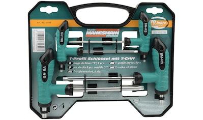 Brüder Mannesmann Werkzeuge Werkzeugset »T-Griff Schlüsselsatz«, 8-tlg., für schwer... kaufen