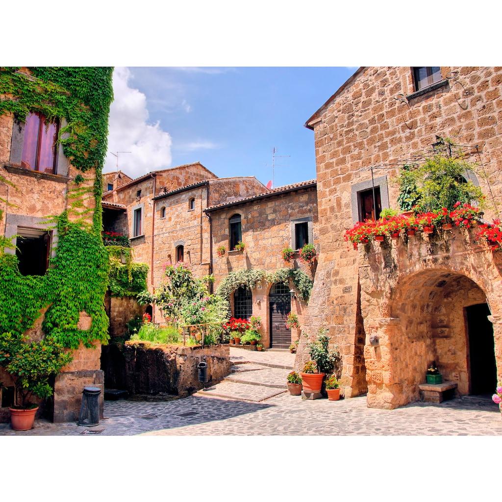 Papermoon Fototapete »Italian Old Village«
