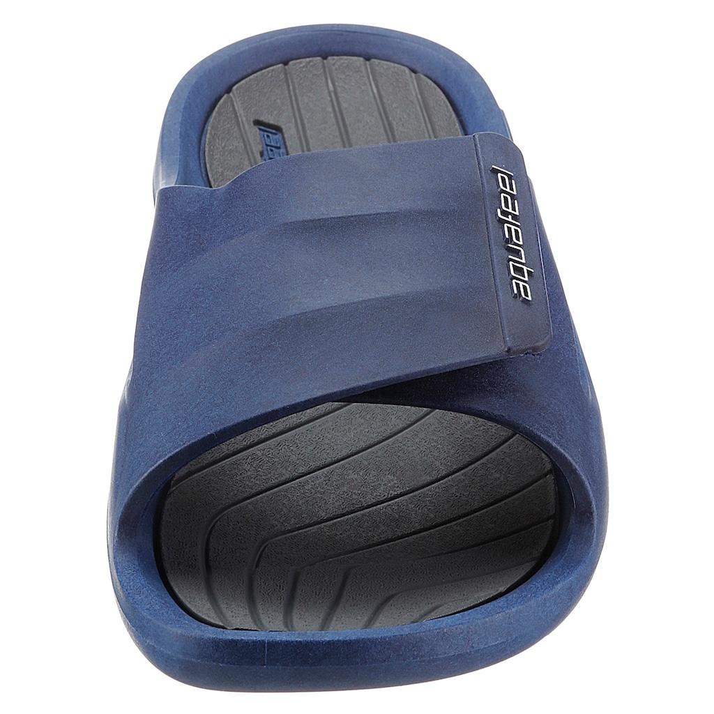 aquafeel Badepantolette, mit anatomisch geformtem Fußbett