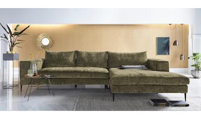 INOSIGN Ecksofa, softer, legerer Sitzkomfort kaufen