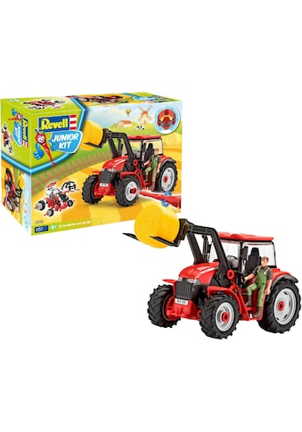 Revell® Modellbausatz »Junior Kit Traktor & Lader, rot mit Figur«, 1:20, Made in Europe kaufen