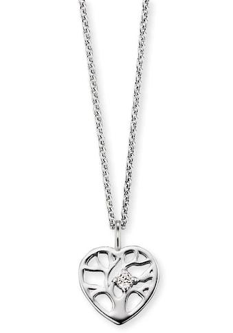 Herzengel Kette mit Anhänger »Kette mit Herz Lebensbaum, HEN - TREE - ZI« kaufen
