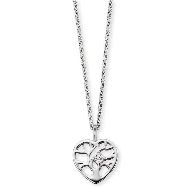Herzengel Kette mit Anhänger »Kette mit Herz Lebensbaum, HEN-TREE-ZI«