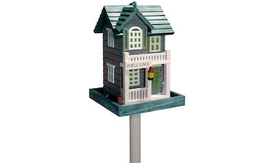 DOBAR Vogelhaus »Welcome«, mit Standbein, BxTxH: 18x18x23 cm kaufen