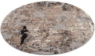 OCI DIE TEPPICHMARKE Teppich »JUWEL LIRAY«, rund, 20 mm Höhe, Wohnzimmer kaufen