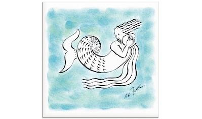 Artland Glasbild »Serie Sternzeichen Wassermann«, Sternzeichen, (1 St.) kaufen