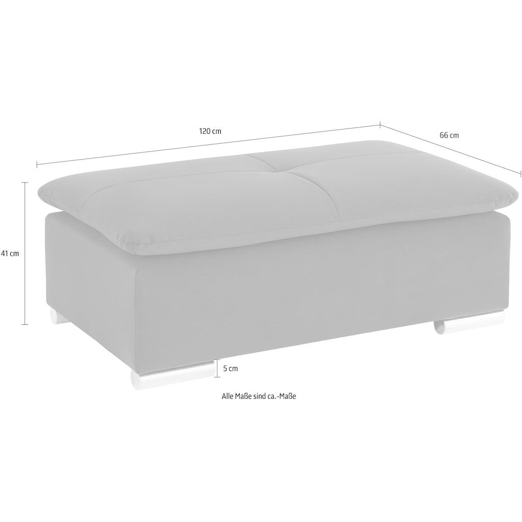 Nova Via Hocker, wahlweise mit Kaltschaum (140kg Belastung/Sitz) und AquaClean-Stoff für leichte Reinigung mit Wasser