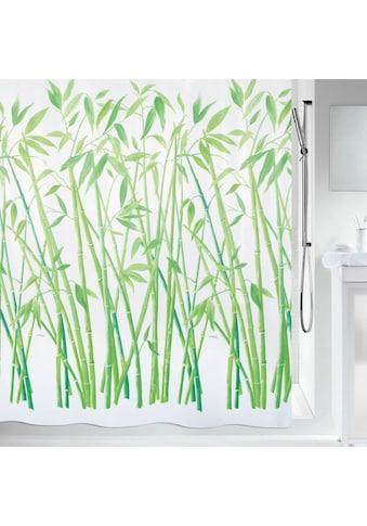 spirella Duschvorhang »BAMBUS«, Breite 180 cm, wasserabweisend kaufen