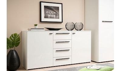 Sideboard »Ksanti«, Mit 4 Schubkästen, hochglänzende Front kaufen