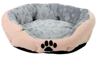 SILVIO DESIGN Hundekissen und Katzenkissen »Snow S«, B/L/H: 38/45/18 cm, sandfarben kaufen