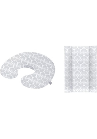 Rotho Babydesign Wickelauflage »Seashell Shape«, (Set, 2 tlg.), in Keilform; inklusive... kaufen