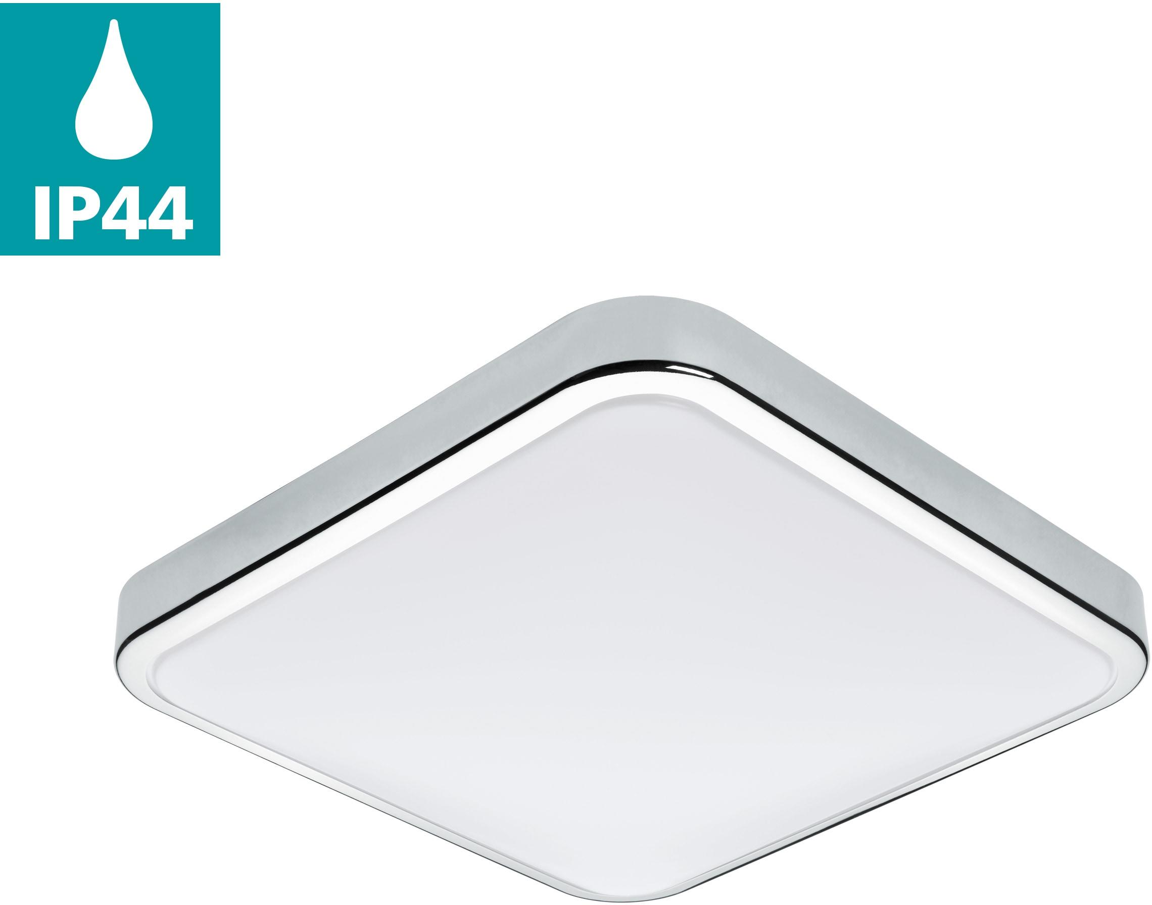EGLO Wandleuchte MANILVA, LED-Board, Warmweiß, LED tauschbar