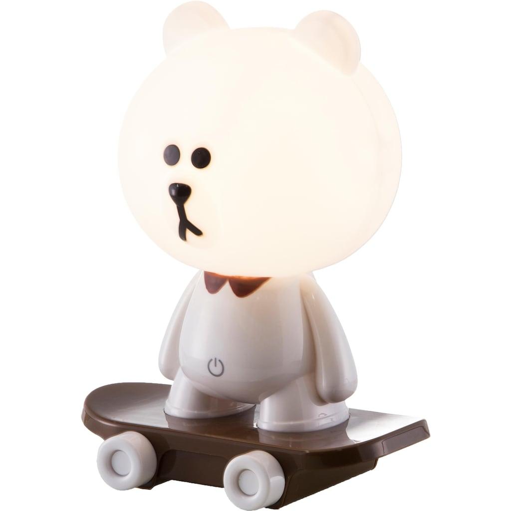 Nino Leuchten LED Tischleuchte »Skate«, LED-Board, 1 St., Warmweiß