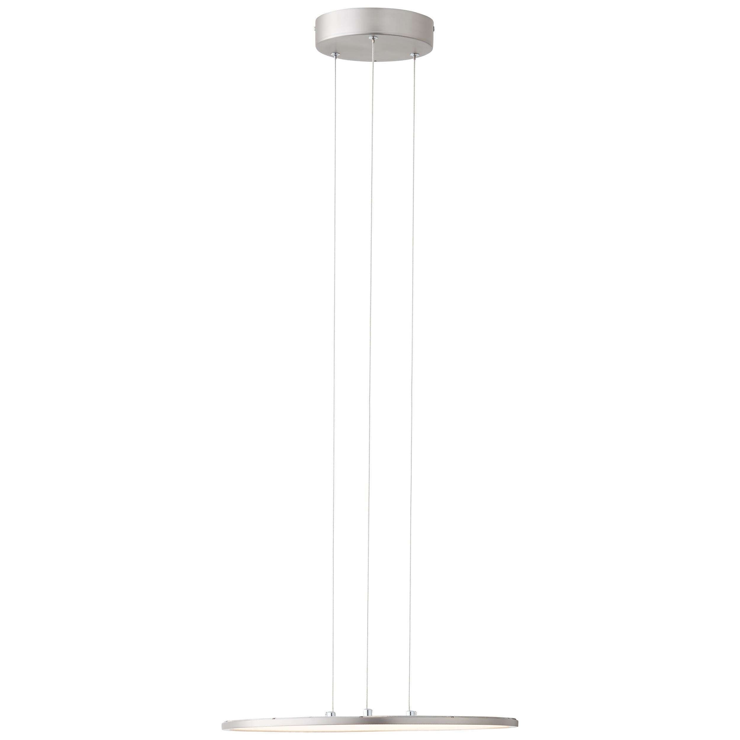 AEG Devin LED Pendelleuchte Paneel 45cm nickel/weiß WiZ-App