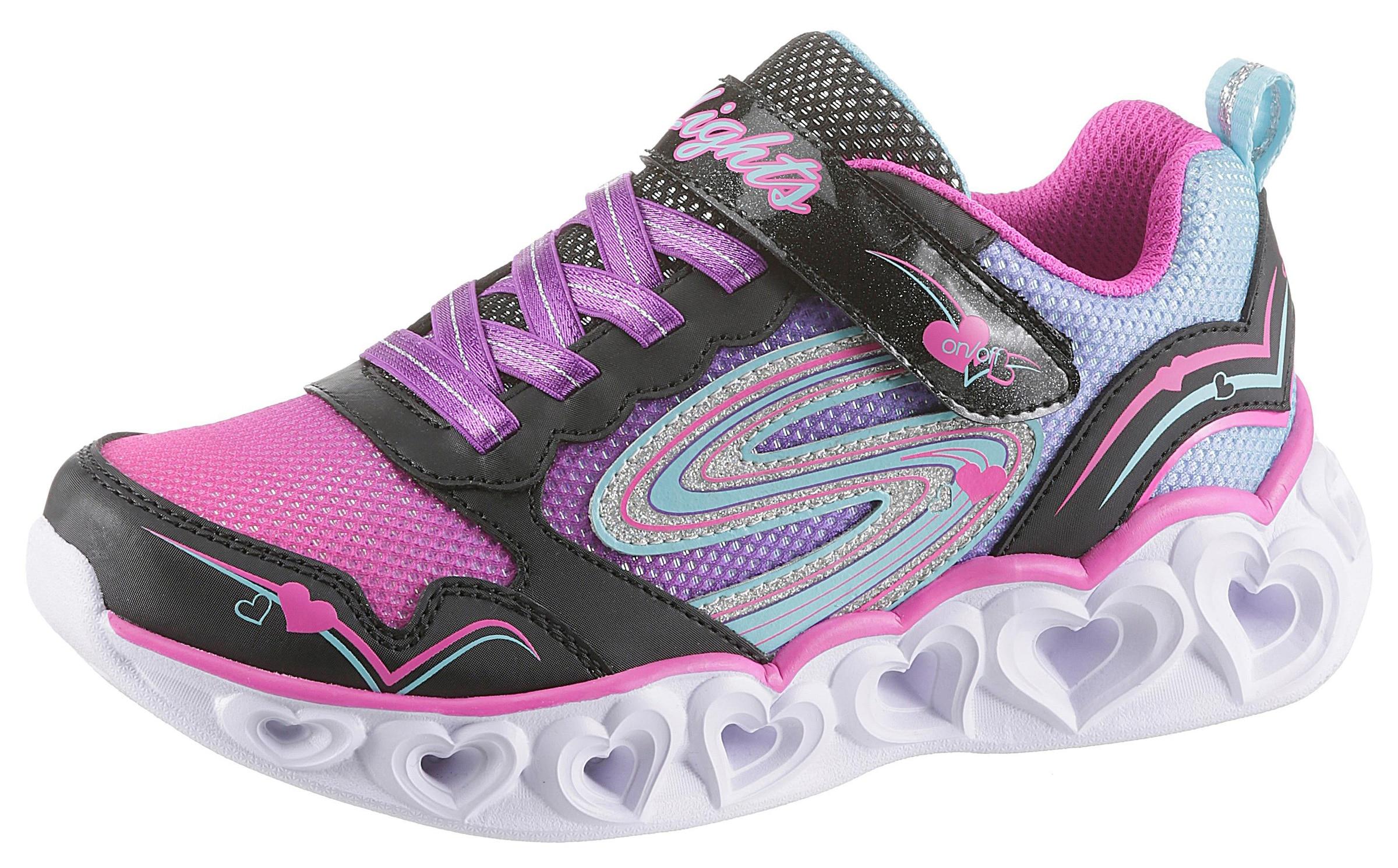 Skechers Kids Sneaker »Blinkschuh Heart Lights« kaufen | BAUR