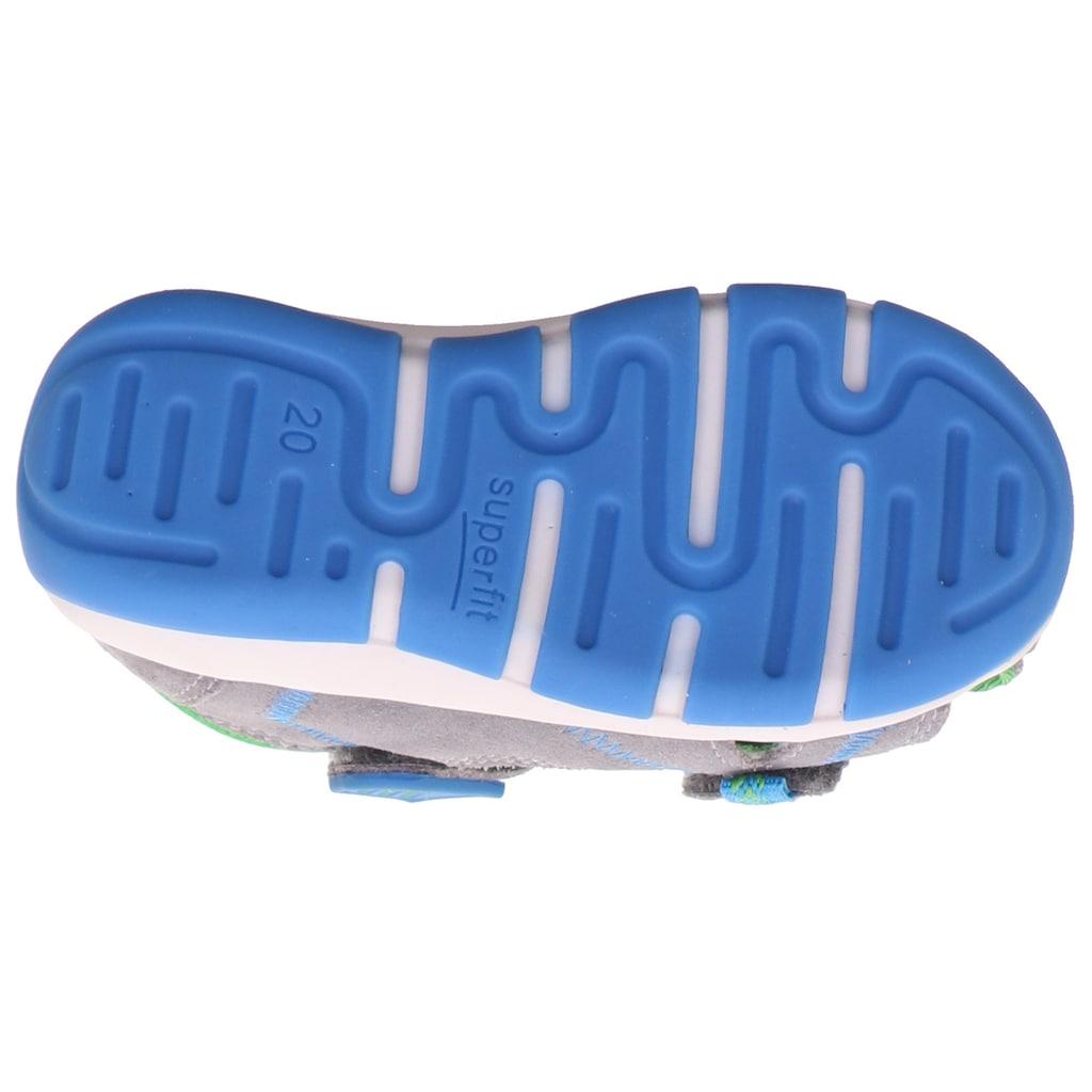 Superfit Sandale »Freddy WMS Weiten-Messsystem: mittel«, mit Klettverschluss