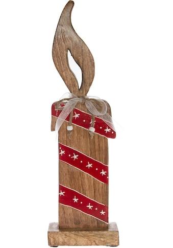 Dekoobjekt »Kerze«, Holzfigur kaufen