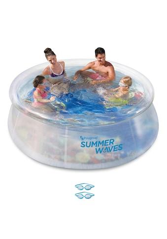 SummerWaves Rundpool »3D«, ØxH: 244x76 cm, inkl. 2 3D-Brillen kaufen
