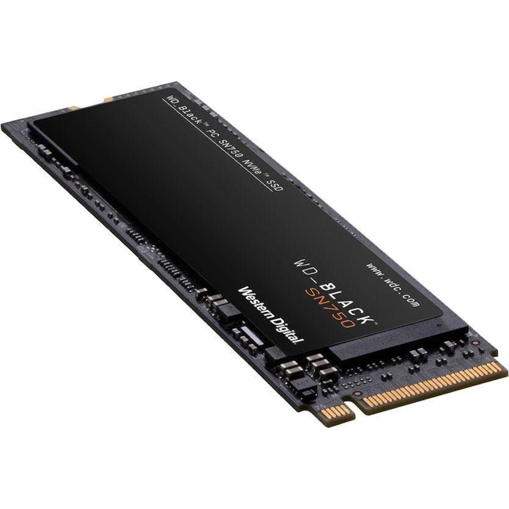WD_Black Gaming-SSD »SN750 NVMe SSD Heatsink«, mit Kühlkörper
