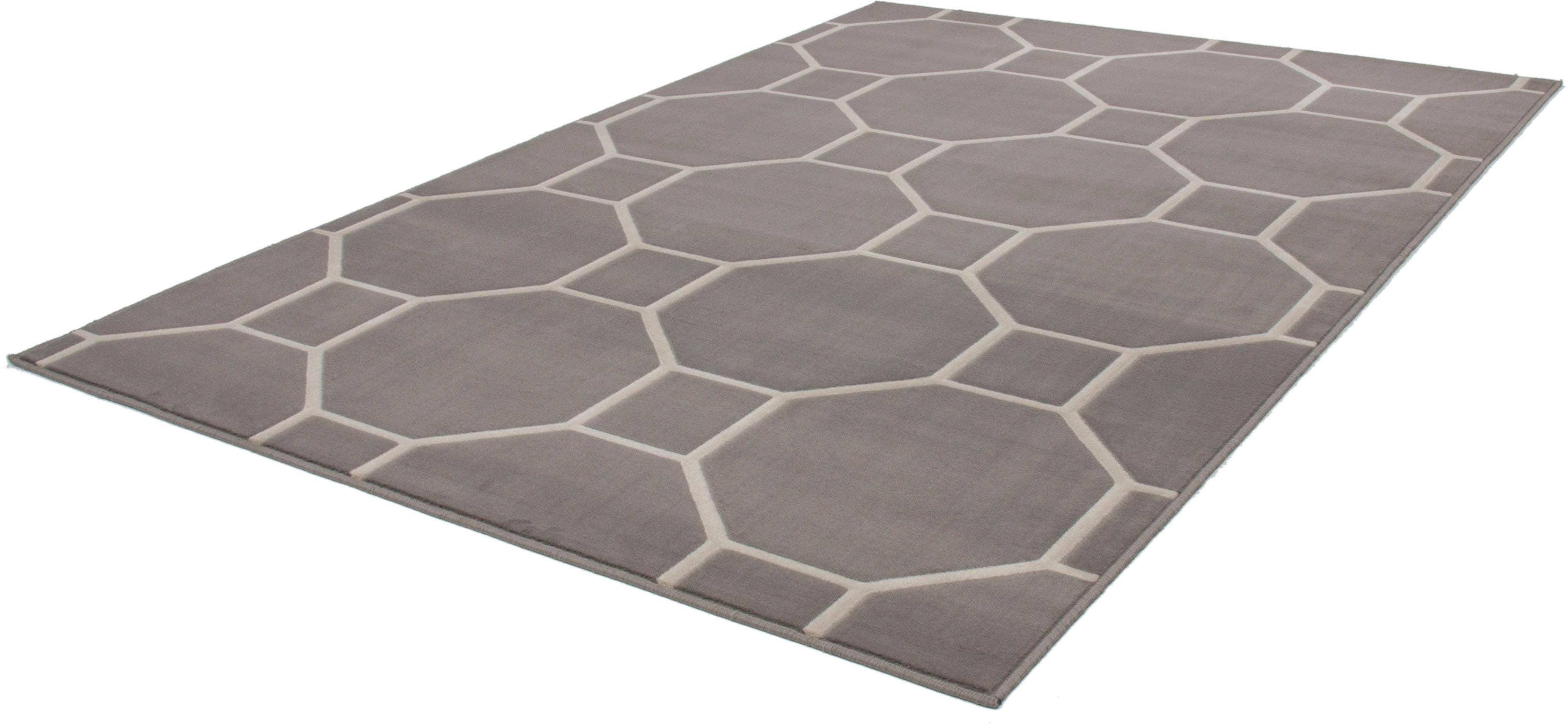 Teppich Aloisy 660 calo-deluxe rechteckig Höhe 10 mm maschinell gewebt