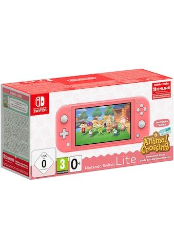 Nintendo Switch Konsolen-Set »Lite«, Animal Crossing: New Horizons Edition kaufen
