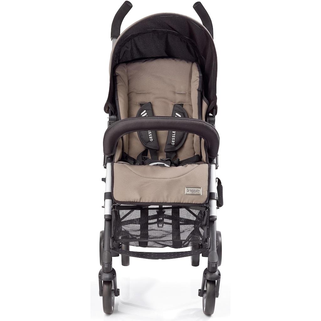 Gesslein Kinder-Buggy »S5 Reverse 2+4, Cappuccino«, mit schwenkbaren Vorderrädern; Kinderwagen, Buggy, Sportwagen, Sportbuggy, Kinderbuggy, Sport-Kinderwagen