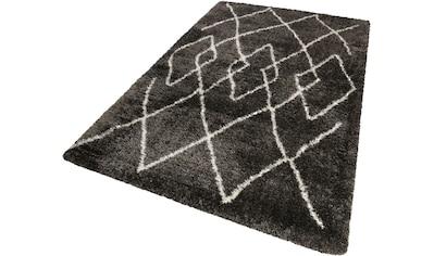 Hochflor - Teppich, »Afella«, Wecon home, rechteckig, Höhe 50 mm, maschinell gewebt kaufen