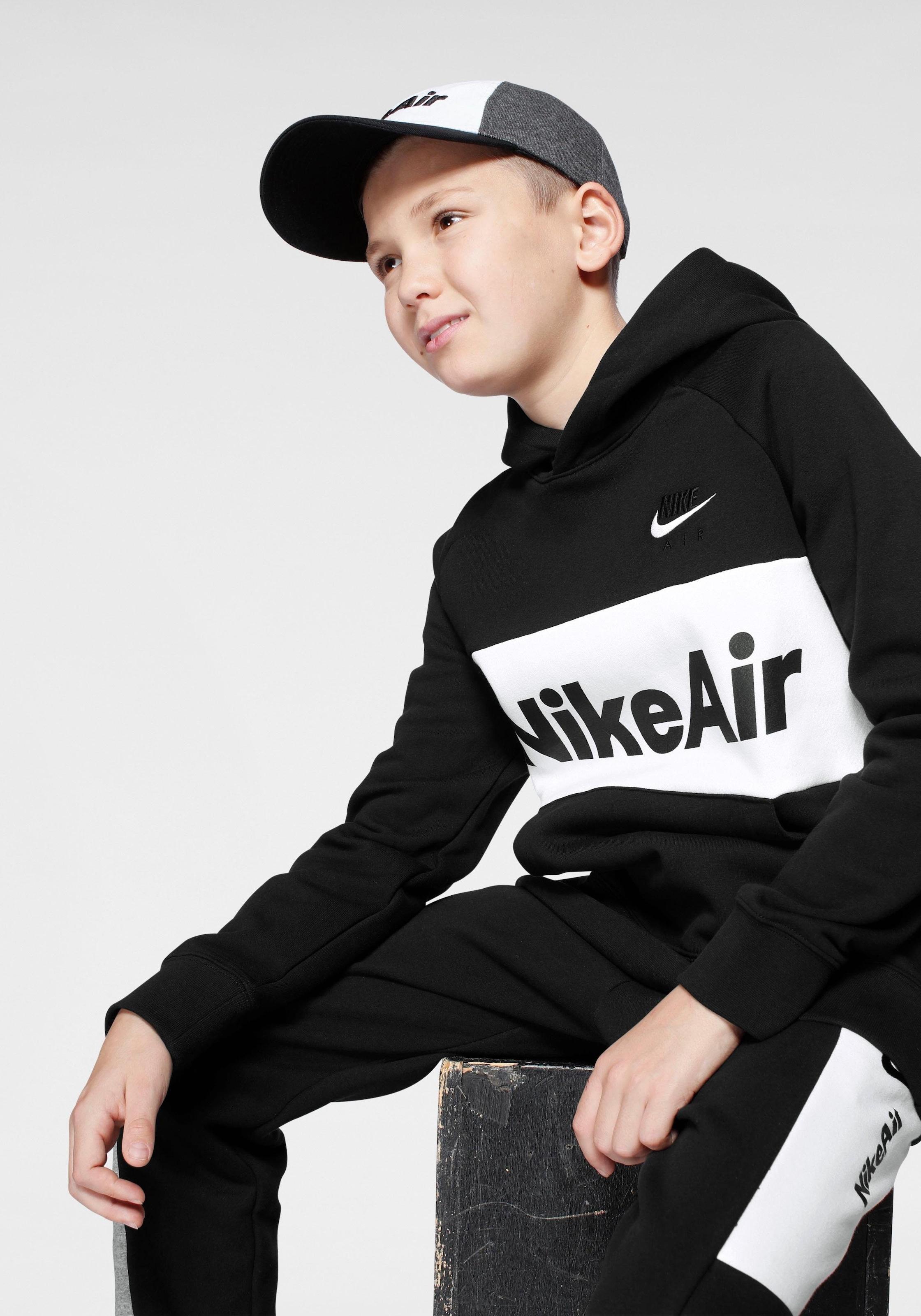 Nike Sportswear Kapuzensweatshirt »Nike Air Big Kids Boys Pullover Hoodie« von BAUR