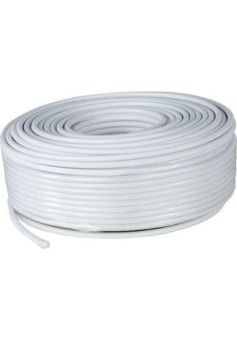 Digitalbox SAT-Kabel »Antennenkabel 110dB, 50 Meter Ring, weiß«, 5000 cm kaufen