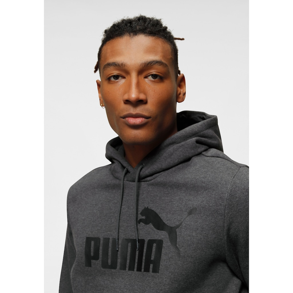 PUMA Kapuzensweatshirt »ESS Hoody FL Big Logo«