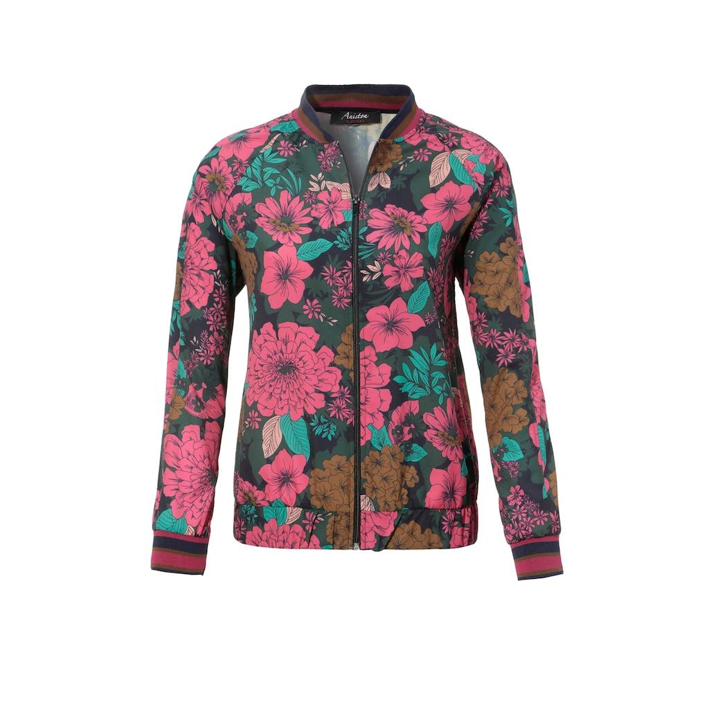 Aniston CASUAL Blouson, in verschiedenen Blumendrucken - welcher ist Dein Favorit? - NEUE KOLLEKTION